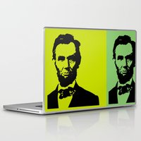 lincoln Laptop & iPad Skins featuring Lincoln by Liam Schultz