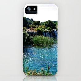 Lagoons de Ruidera iPhone Case