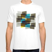 Aronde Pattern #03 Mens Fitted Tee White MEDIUM