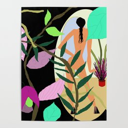 Floral and Fauna Poster