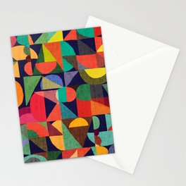Color Blocks Stationery Cards