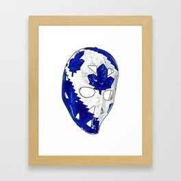 Palmateer - Mask 2 Framed Art Print