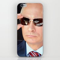 putin iPhone & iPod Skins featuring mr.Putin by Mikhail Zhirnov