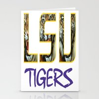 decal Stationery Cards featuring LSU NEW DECAL by The Greedy Fox