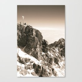Sitting on top of Germany Canvas Print