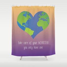 hEART(H) Shower Curtain
