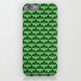 Nuclear Green & Black Nuke Symbol iPhone Case