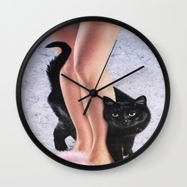 KITTY KRAZY Wall Clock