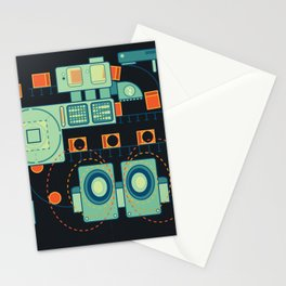 Word Machine Stationery Cards