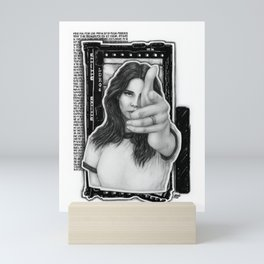 Venice B*tch Mini Art Print