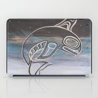 killer whale iPad Cases featuring Killer Whale  by JessaDee`Designs