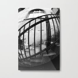Bannister Metal Print