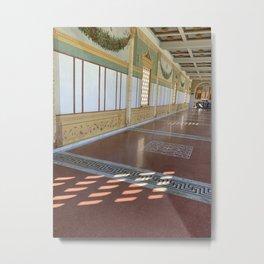 Sun throw the Window Metal Print