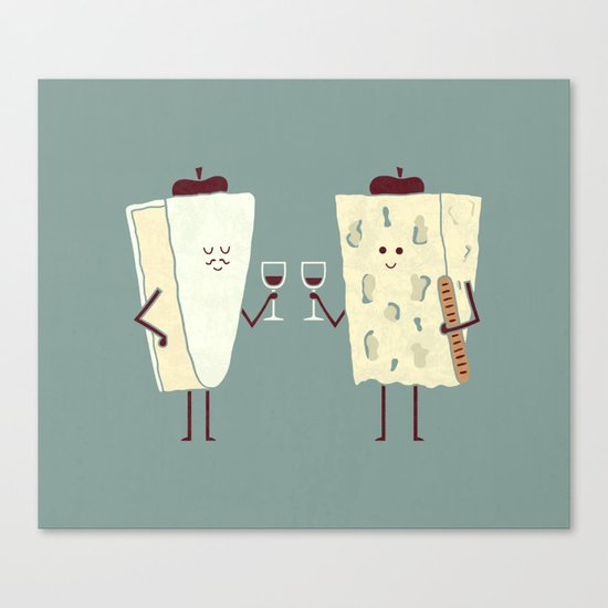 Frencheese Canvas Print