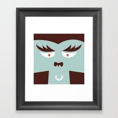 The Monster Club - Monster #7 Framed Art Print