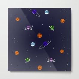 Reach For The Galaxies Metal Print