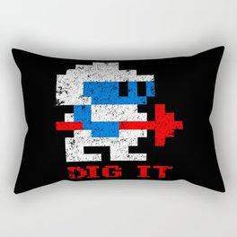 Dig It Rectangular Pillow