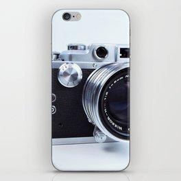 1950s Nicca Rangefinder Camera iPhone Skin