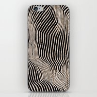 calligraphy iPhone & iPod Skins featuring it's waving calligraphy by Anna Grunduls
