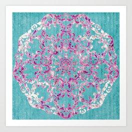Reinventing A Taste of Lilac Wine Art Print