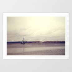 Down by the Sea Art Print