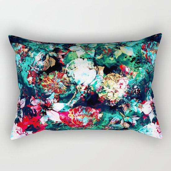 Flower Explosion Rectangular Pillow