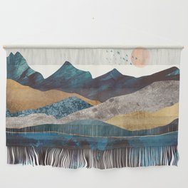 Blue Mountain Reflection Wall Hanging