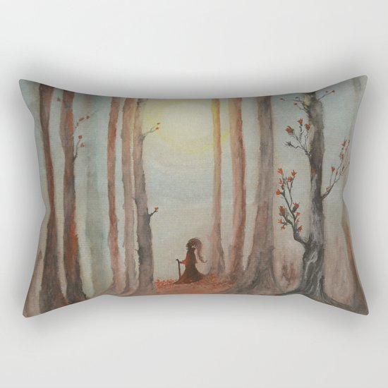 Track 7: The wizard Rectangular Pillow