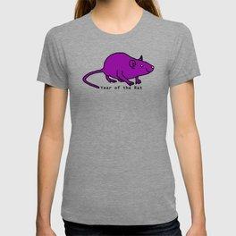 Purple Year of the Rat T-shirt