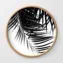 Palm Leaves Black & White Vibes #1 #tropical #decor #art #society6 by anitabellajantz
