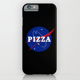 Pizza NASA Parody iPhone Case