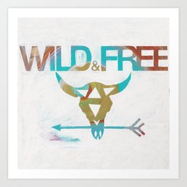 WILD & FREE Kunstdrucke