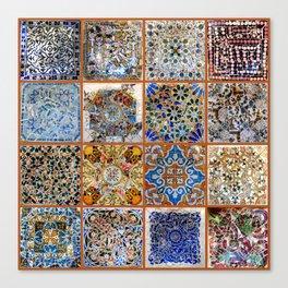 Oh Gaudi! Canvas Print