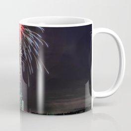 Fourth Of July Fireworks Gloucester Coffee Mug