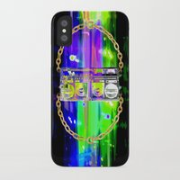 hip hop iPhone & iPod Cases featuring Hip Hop Jam by Kris Klein