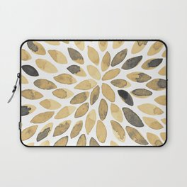 Watercolor brush strokes - neutral Laptop Sleeve