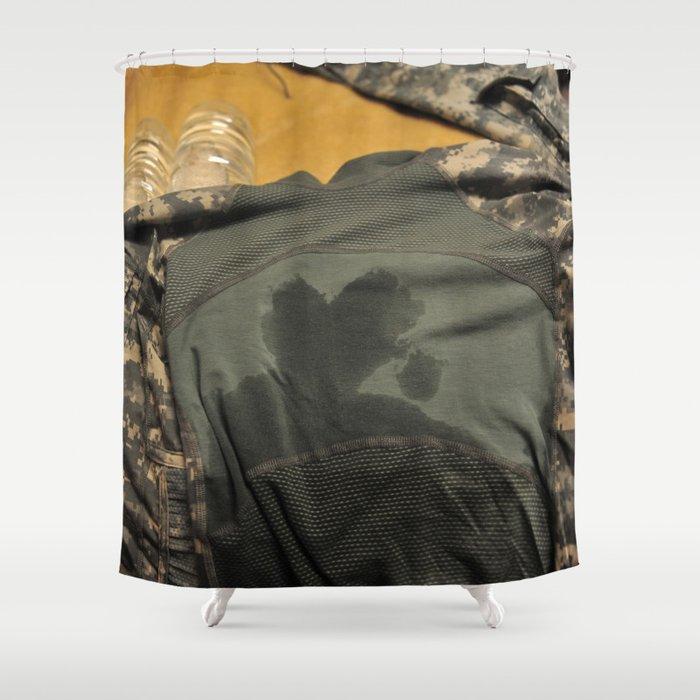 Guarding My Heart Shower Curtain
