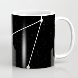 CAPRICORN (BLACK & WHITE) Coffee Mug