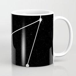 CAPRICORN (BLACK & WHITE) Coffee Mug