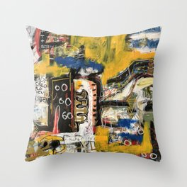 Confuso Throw Pillow