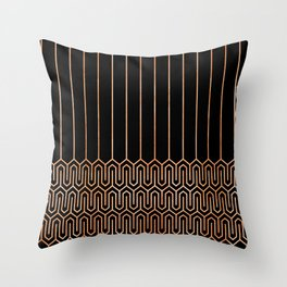 Art Deco No. 1 Quinn Throw Pillow