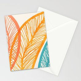 Tropical Flora - Retro Palette Stationery Cards