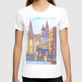 World famous Three Graces (Digital painting) T-shirt