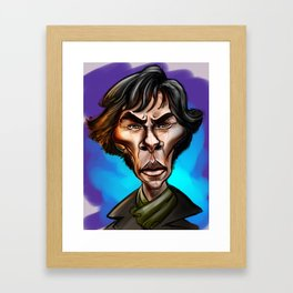 Sherlock... Framed Art Print