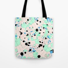 FALL ASLEEP Tote Bag