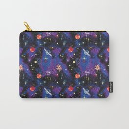 Out of This World Carpet Pattern Carry-All Pouch