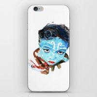 hindu iPhone & iPod Skins featuring Hindu Boy by Cristian Blanxer