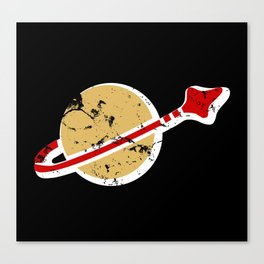 1980s Something Space Guy Canvas Print