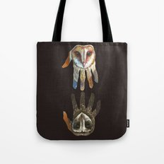 Hands of Darkness Tote Bag