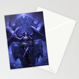 Black Angel Stationery Cards